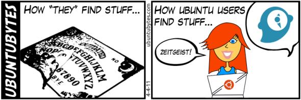 Cómo encontrar cosas en Ubuntu (Humor)